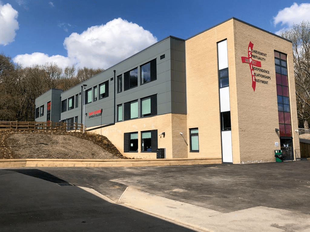 Design and Installation of Three-Storey Science Block Hythe Building Services School Construction